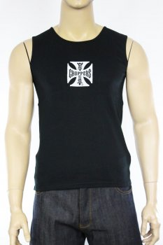 Débardeur West Coast Choppers tank top noir