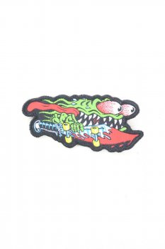 Patch Santa Cruz Skateboard Monster