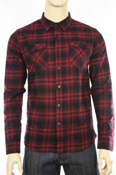Chemise Dominator West Coast Choppers rouge