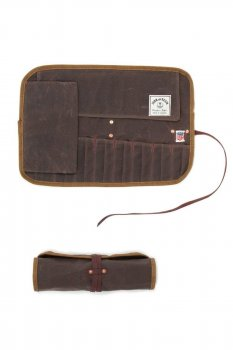 Tool Roll Iron and Resin brown