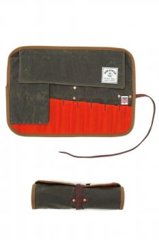 Tool Roll Iron and Resin olive