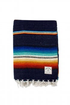 Serape Iron and Resin navy