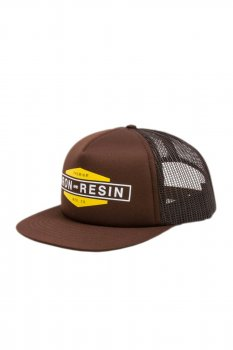 Casquette Iron and Resin Wheelman brune