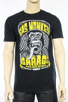 T-shirt Gas Monkey Garage Custom Built