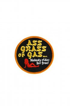 Patch Biltwell Ass Grass or Gas