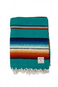 Serape Iron and Resin aqua