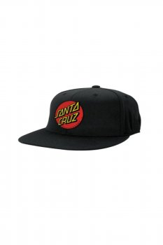 Casquette Santa Cruz originale Dot full black