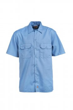 Chemise Dickies classic work shirt gulf blue