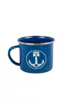 Mug Iron and Resin bleu