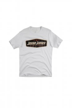 T-shirt Jesse James Workwear Sturdy blanc