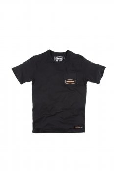 T-shirt Jesse James Workwear pocket tee black