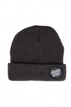 Bonnet Santa Cruz outline Dot noir