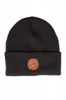 Bonnet Santa Cruz original Dot noir